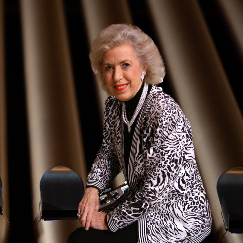 Diane Joyce Bish: An American organist, composer, conductor, and executive producer & host of The Joy of Music television series.
